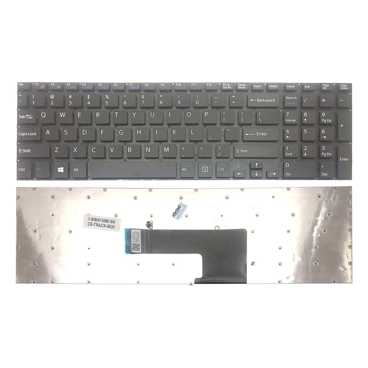Laptop Internal Replacement Keyboard Compatible with IBM