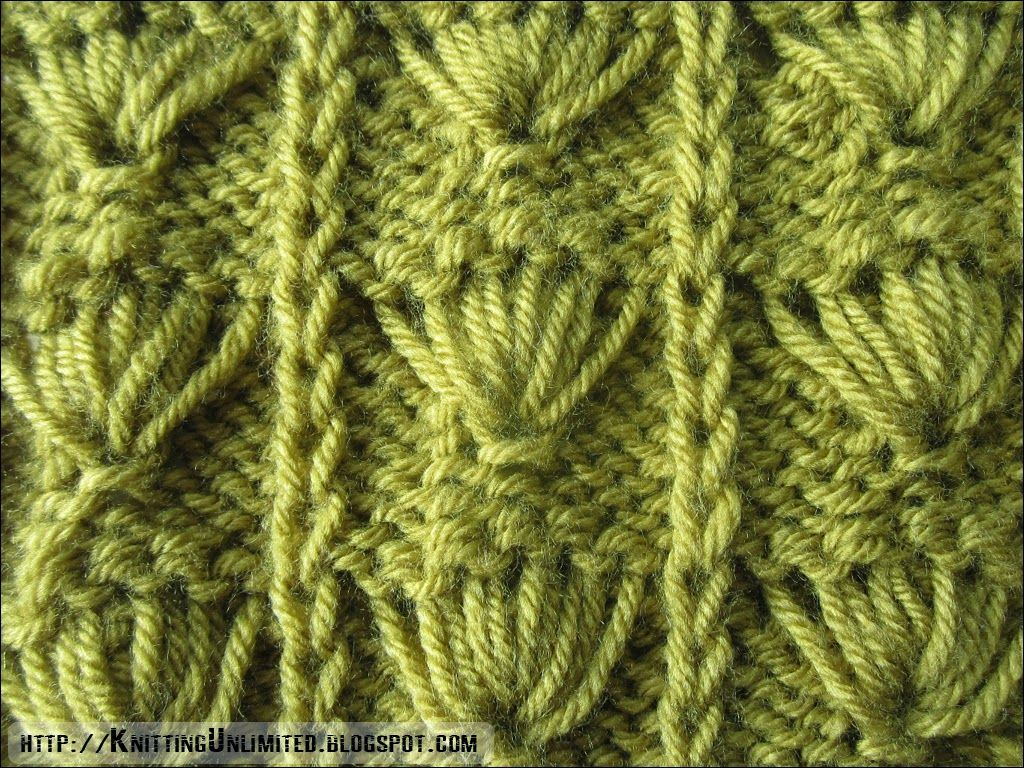 Slip-Stitch knitting pattern | knittingunlimited.blogspot.com ...
