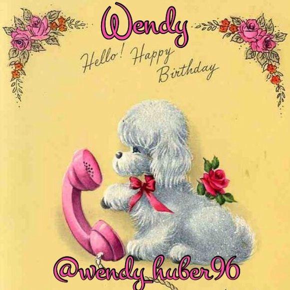 Happy Birthday Wendy Wendy Huber96 Hello Vixens Today Is Wendy S