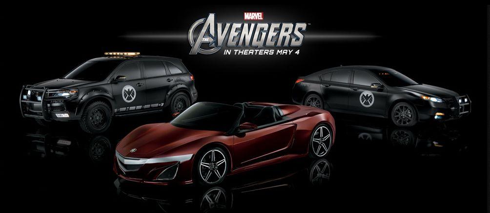 Beau Acura Avengers NSX Roadster