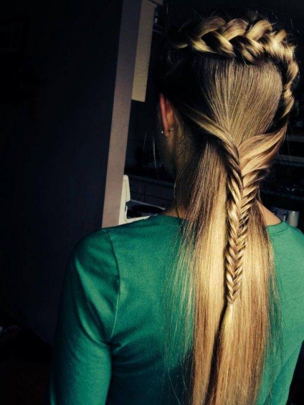 Coafura Pentru Par Lung Drept Si Fin Maria Pinterest Hair
