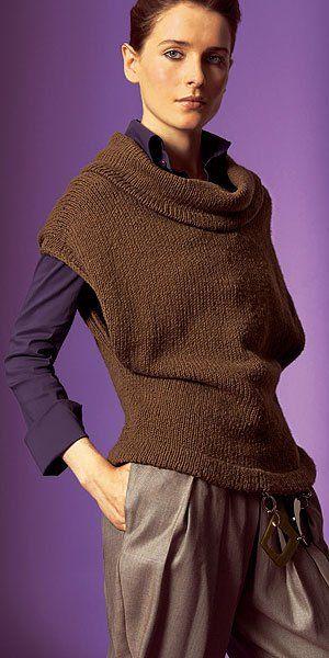 Pullunder, stricken, knitting                                                                                                                                                                                 Mehr