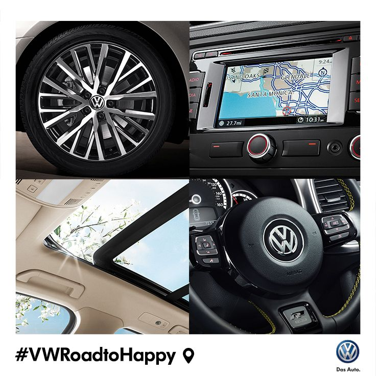 Everyone's got a favorite feature. Which one makes your #VWRoadtoHappy?