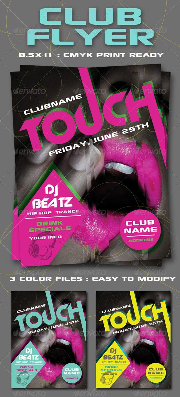 Club Flyer   Club flyers and Flyer printing