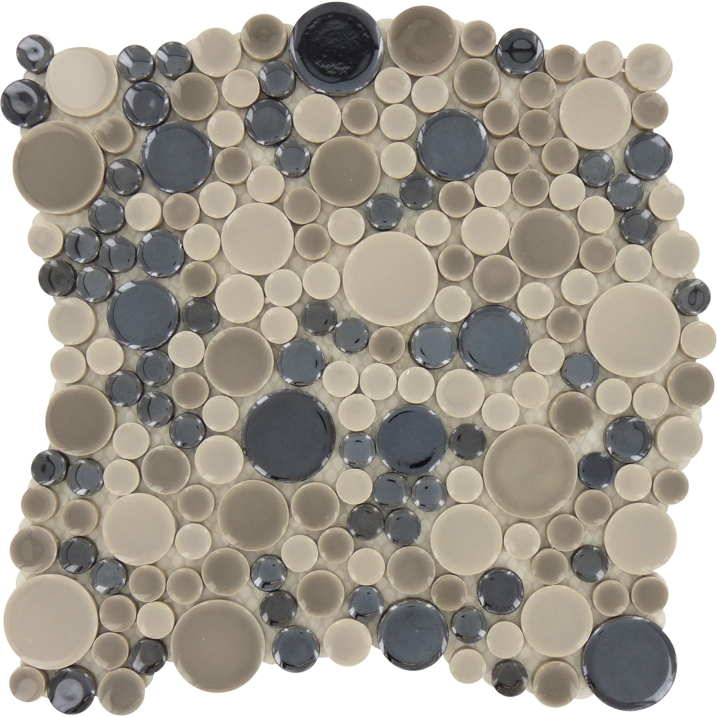 Sheet Size 11 X 11 Tile Size Circles Tile Thickness 14 Grout