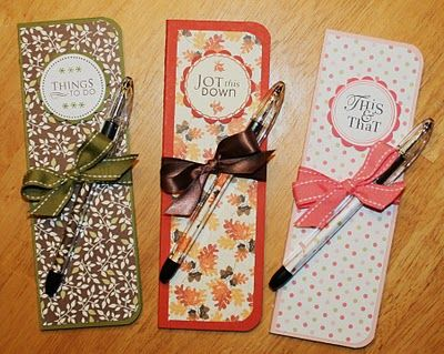 Gift idea.  This site has a lot of ideas and resources for stamping and paper crafts.