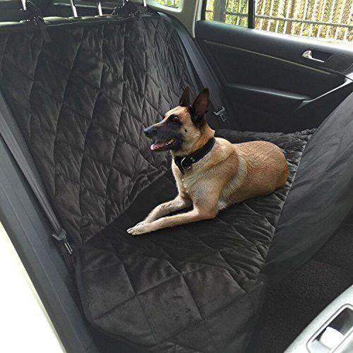 Medium HOBBYDOG Standard Car Seat Cover Grey