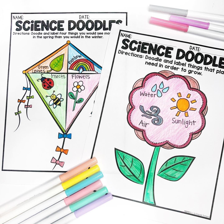 Doodle Challenges Summer Science
