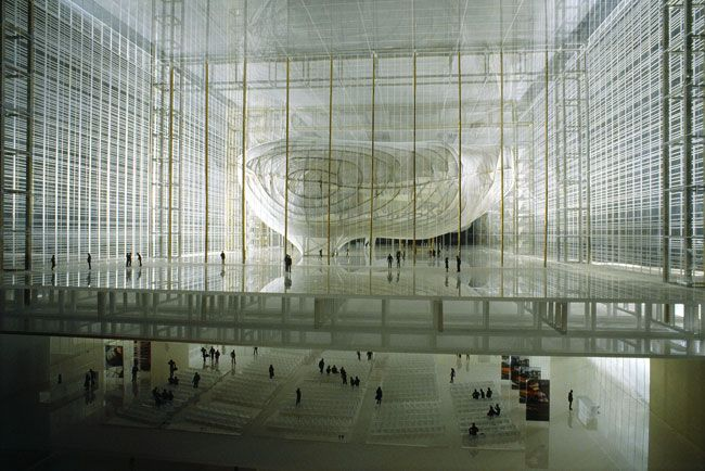 "Modern Architecture Rome the cloud""fuksas. eur, rome. 