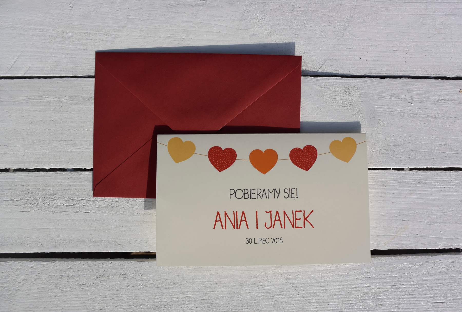 Rustic Wedding Invitations by MRs DESIGN: -2 patterns of flag -3 ...