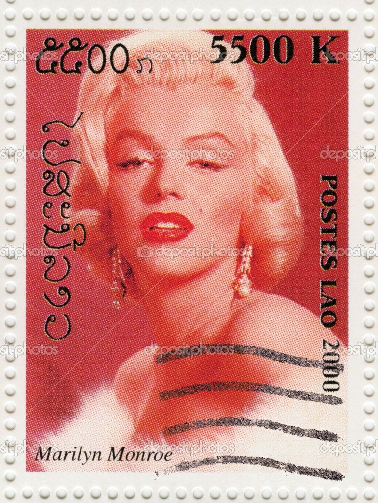 Marylin stamp