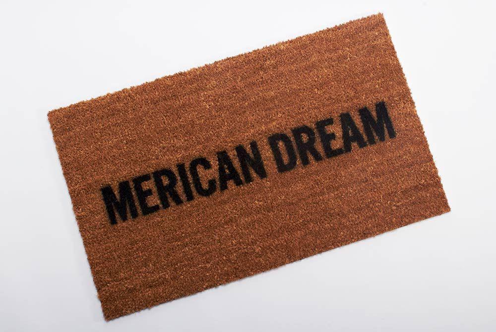 Merican Dream Door Mat