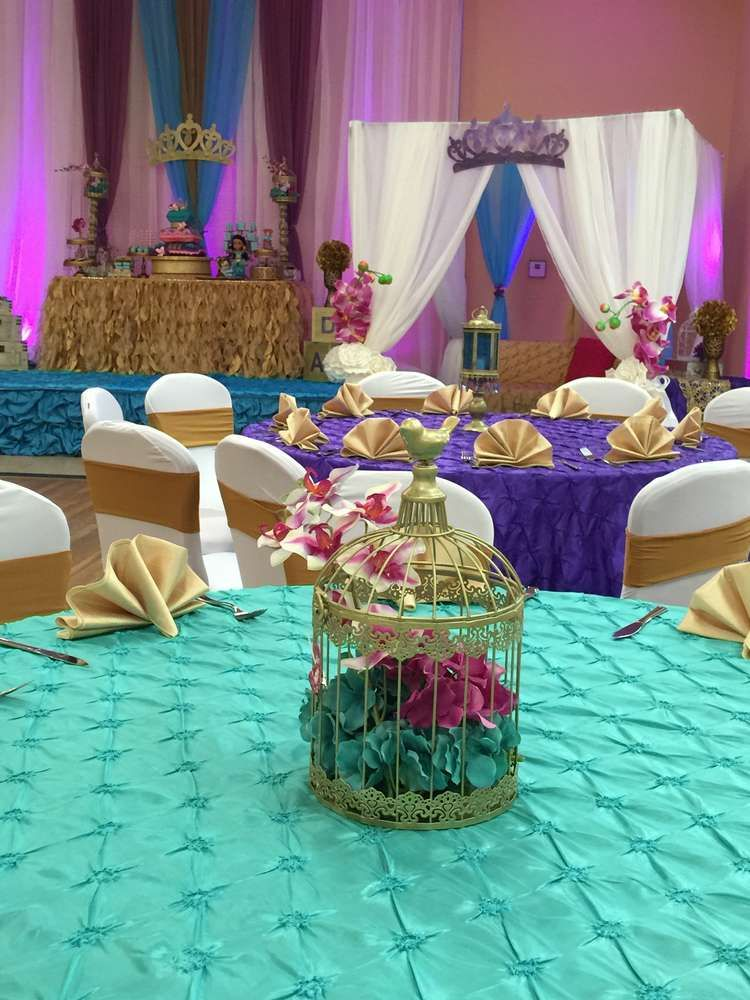 Princess Jasmine Aladdin Baby Shower Party Ideas