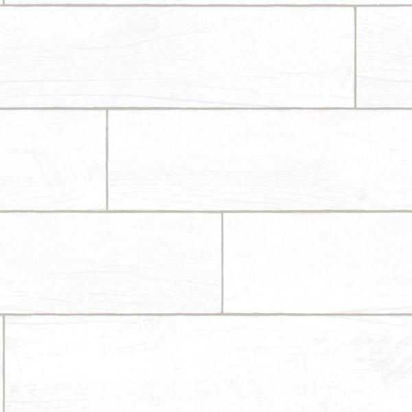 Nuwallpaper Shiplap Peel And Stick Vinyl Strippable Wallpaper Covers 30 75 Sq Ft Nu2187 The Home Depot Peel And Stick Wallpaper White Shiplap Wood Wall Design