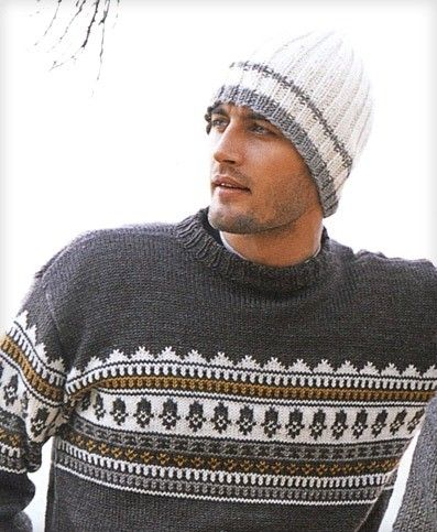 Fathers day Knit hat for men Wool man beanie Skiing by chicksale