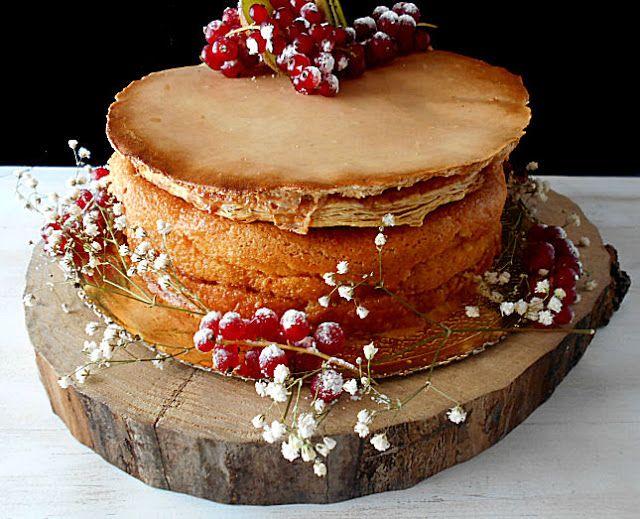 Coisas simples são a receita ...: Pão de ló encharcado com crosta jesuíta