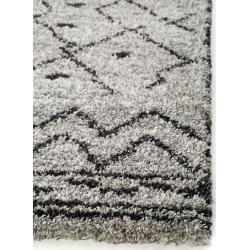 Photo of benuta Trends Hochflorteppich Gobi Grau 160×230 cm – Berber Teppich