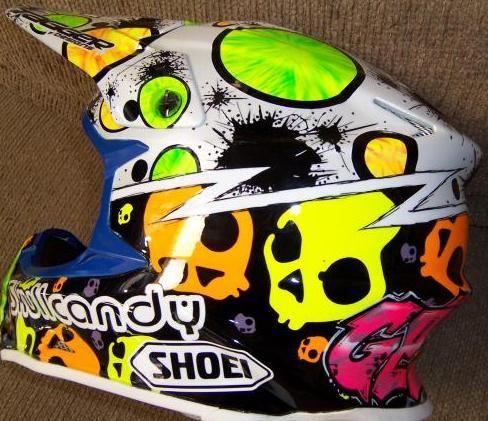 Nice Custom Helmet Paint Jobs Moto Related Motocross Forums