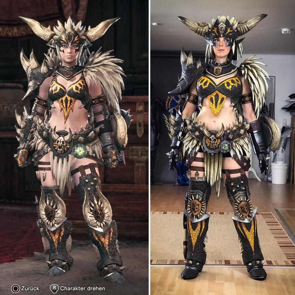 Nergigante Armor From Monster Hunter Cosplay By Kamui Cosplay