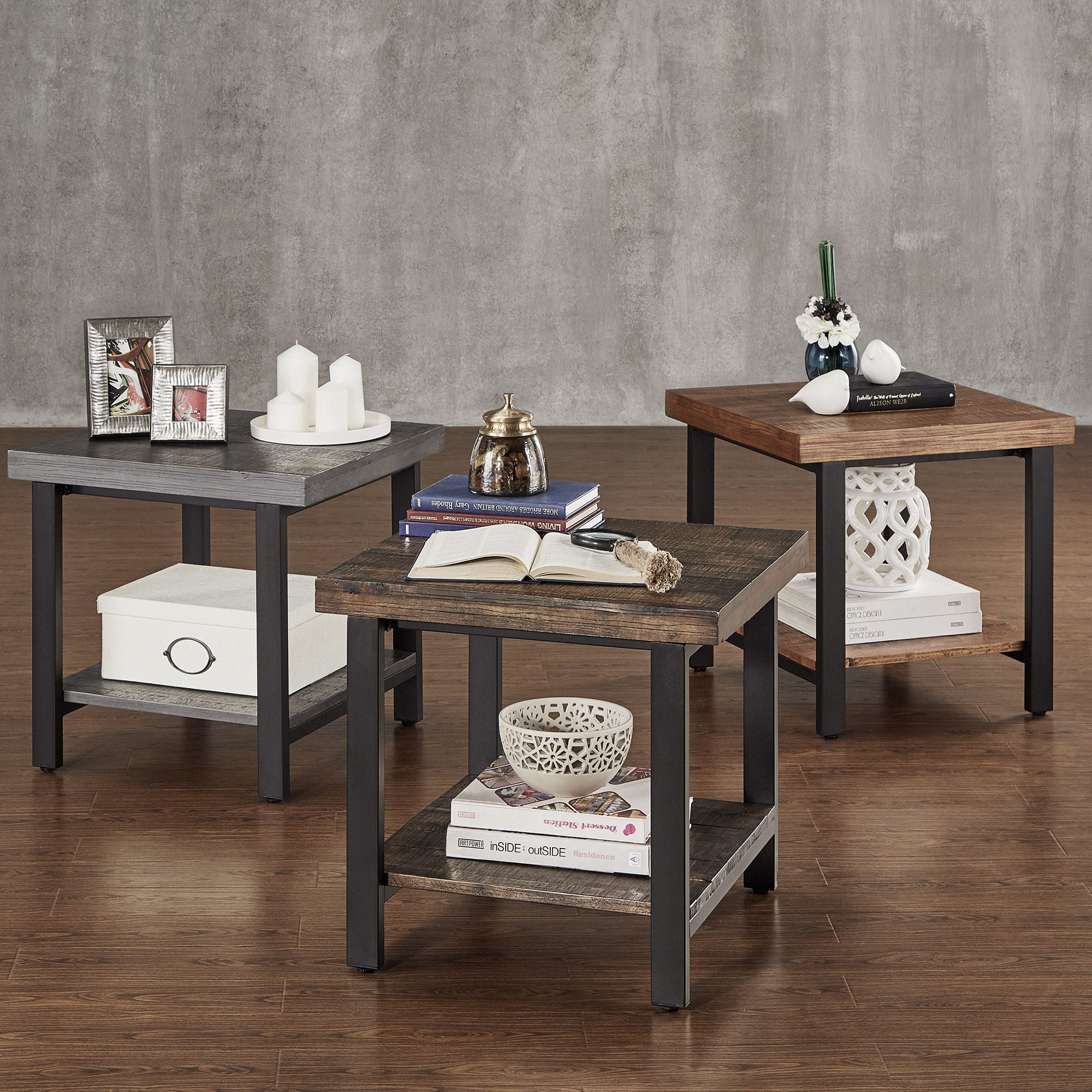 Rustic End Tables Home Goods Free Shipping On Orders Over