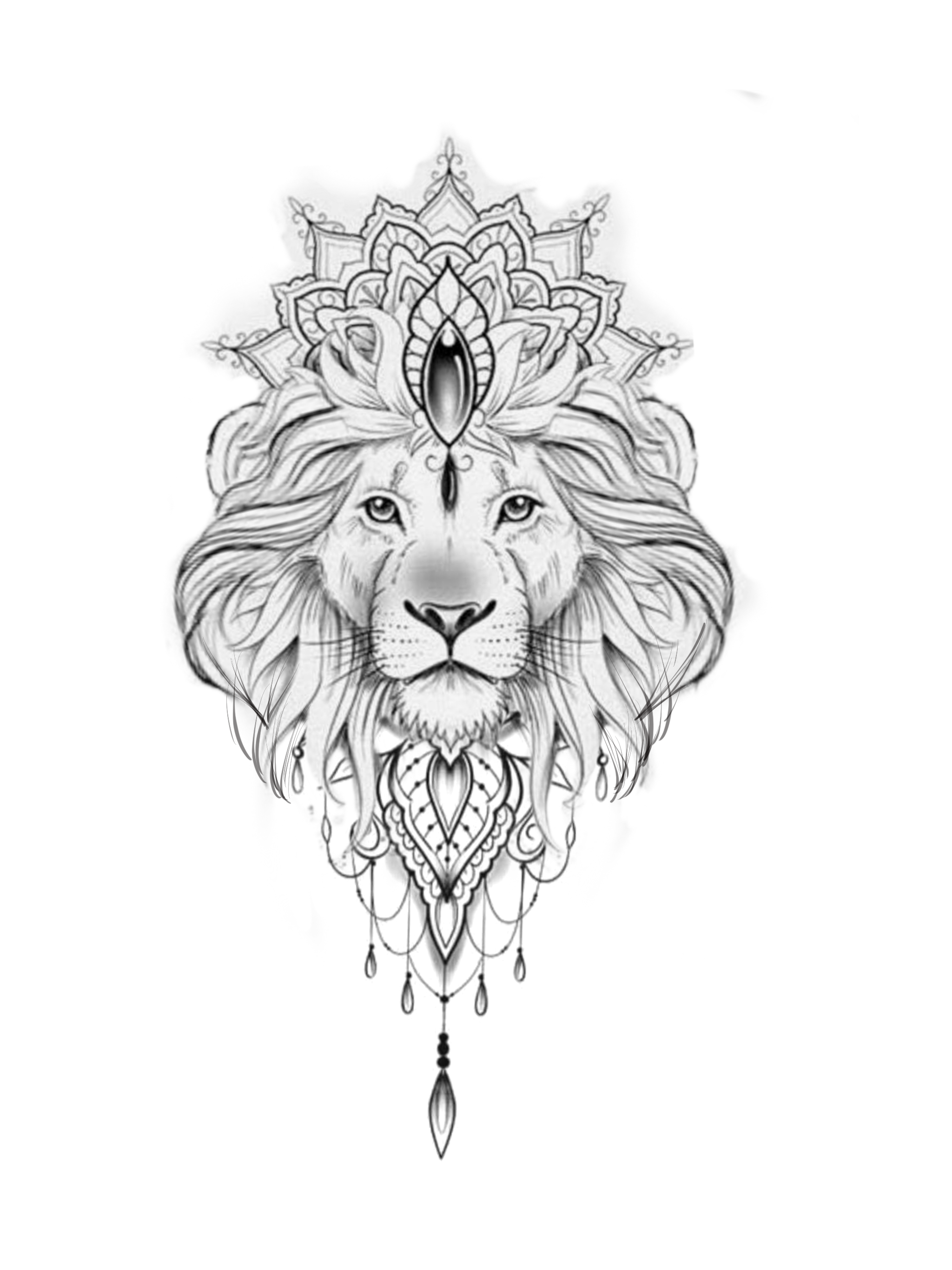 This Pattern In A Crown In 2020 Lion Forearm Tattoos Lion Tattoo Lion Head Tattoos