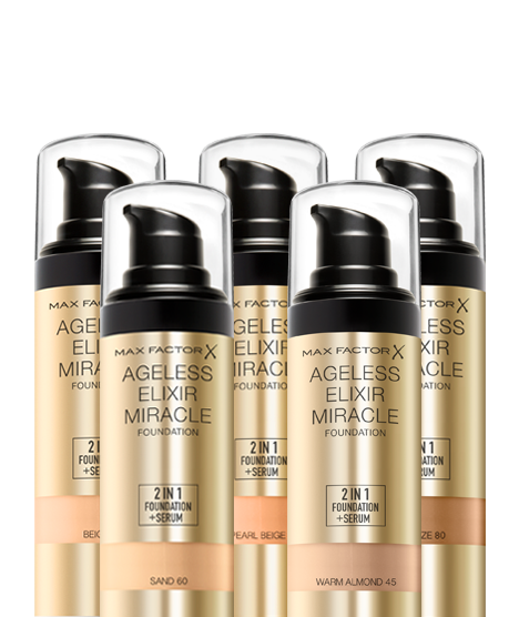 max factor ageless elixir 2 in 1 foundation beige