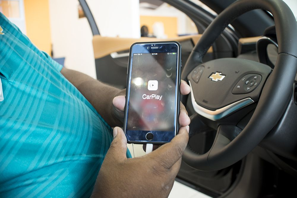 Chevrolet Introduces A New Partnership With Apple Carplay