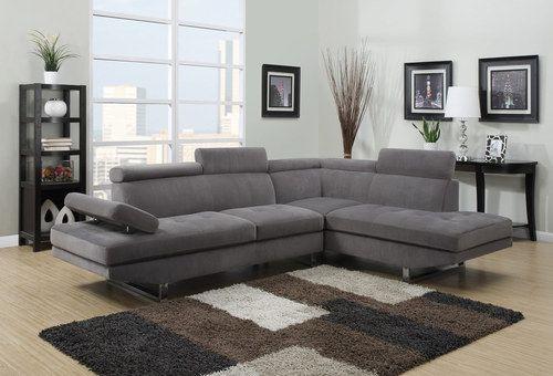 Generation Trade Calais Grey Modern Sectional Sofa in 2019 ...