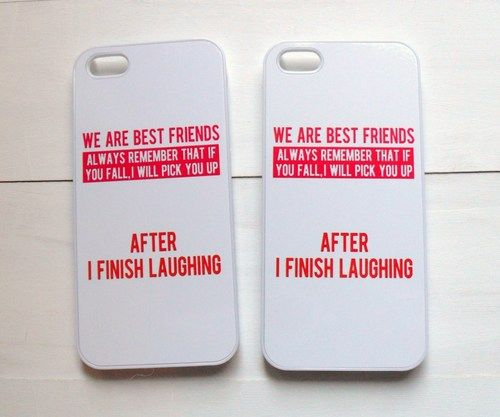 Matching Bff Funda For Teen Girls For iPhone 8 & iPhone 8-pl