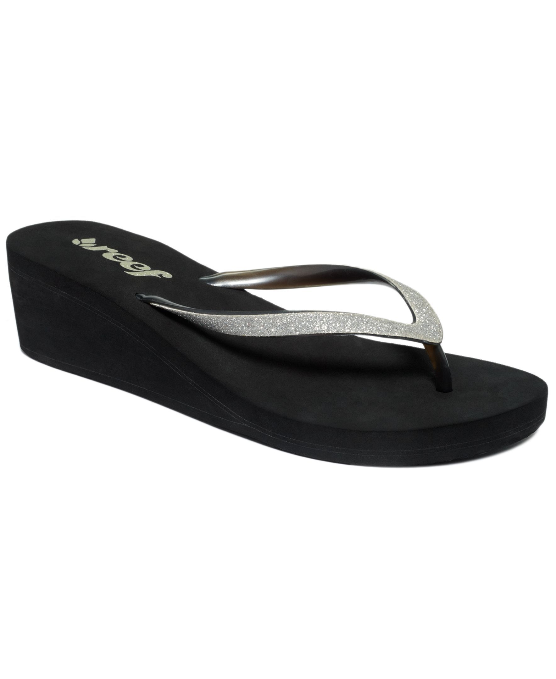 1a055f3ecfd2e Reef Krystal Star Wedge Thong Sandals | Products | Reef shoes ...