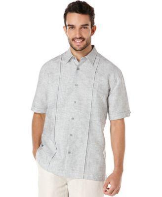 Cubavera Pleated Slub Shirt