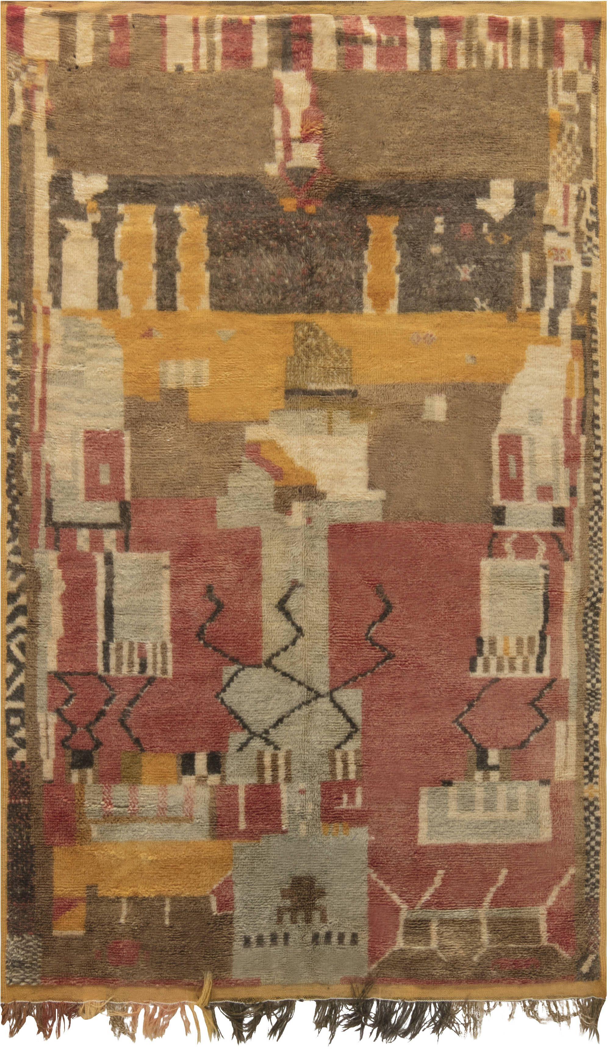 Vintage moroccan rug in textiles pinterest rugs vintage