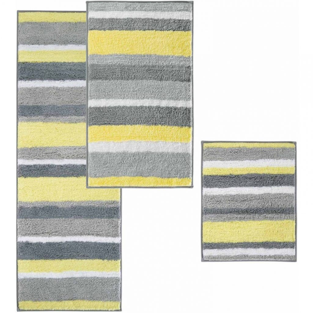 Yellow And Gray Bathroom Rug  Yellow bathroom rugs, Yellow