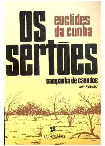 Os Sertoes De Euclides Da Cunha Livros Brasileiros Livros
