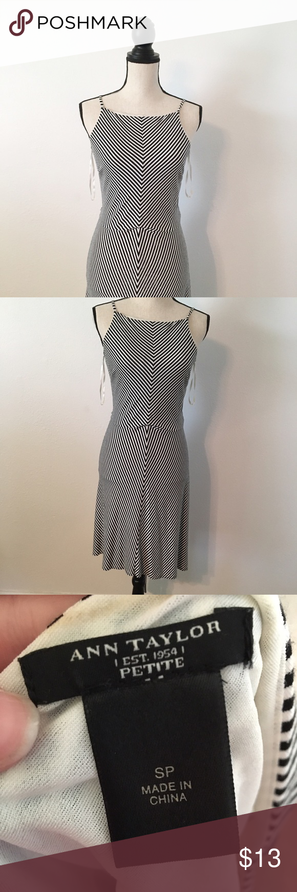 Ann Taylor Petite High Neck Dress 💚 NO TRADES 💚 💚 YES OFFERS ( bundle offers too) 💚 💚 NO LOWBALLS 💚 💚 FREE GIFT $25 + 💚 💚CLOSET DISCOUNT 20% OFF 3+ 💚 Ann Taylor Dresses Midi