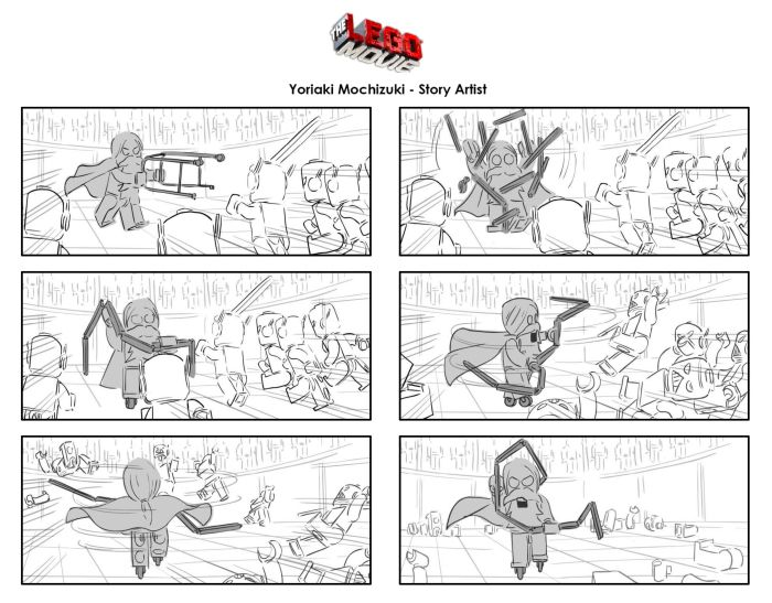 Image result for Lego Movie storyboards ADT-StoryBoards
