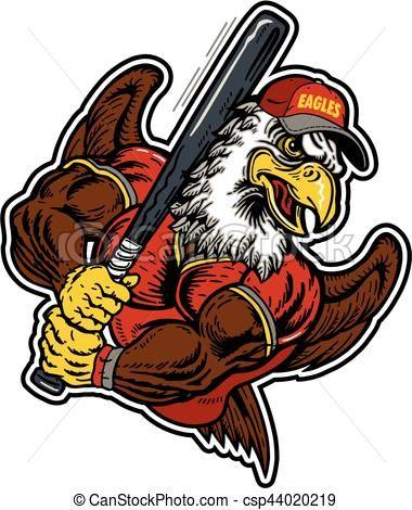 vector eagles baseball stock illustration royalty free rh pinterest co uk free bulldog mascot clipart free tiger mascot clipart
