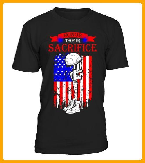 Honor Their Sacrifice Memorial Day Tshirt - 14 juli shirts (*Partner-Link)