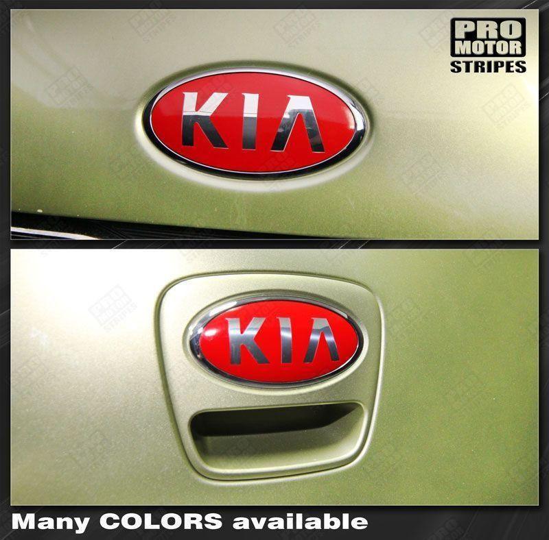 Kia SOUL 20082020 Front & Rear Emblem Accent Overlay