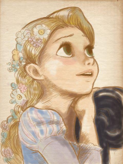 ラプンツェルかわいいよの画像 ハルヨの頁 Disney Princesses