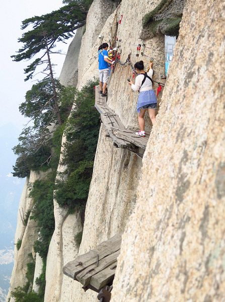 SHAANXI: Make it to the top of Hua Shan. Watch the sunrise.