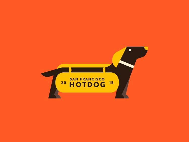 15 Creative Hot Dog Logo Ideas Dog Logo Dog Logo Design Animal