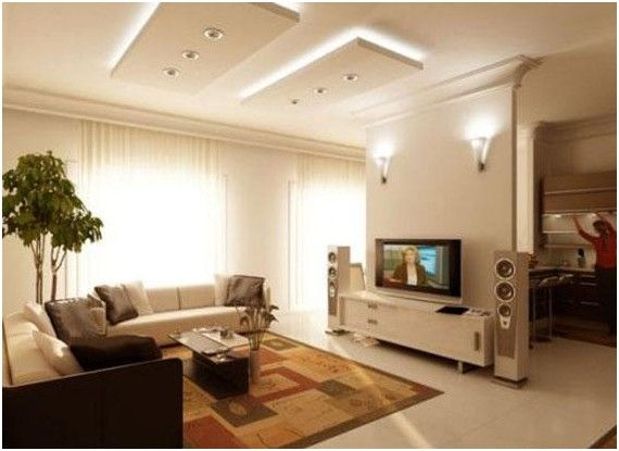 False ceiling ideas for living room dopehomeideas - Simple ceiling design for living room ...