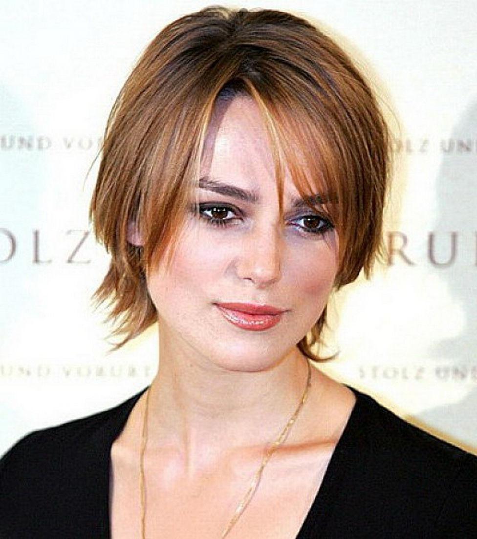Kurze Frisuren für lange Gesichter und feines Haar  Haarschnitt