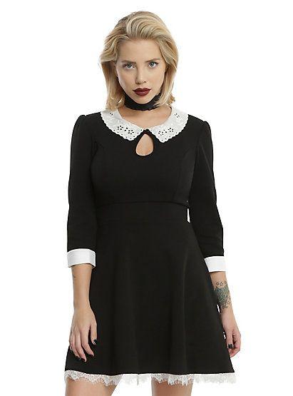 American Horror Story: Murder House Maid Skater DressAmerican Horror Story: Murder House Maid Skater Dress, BLACK