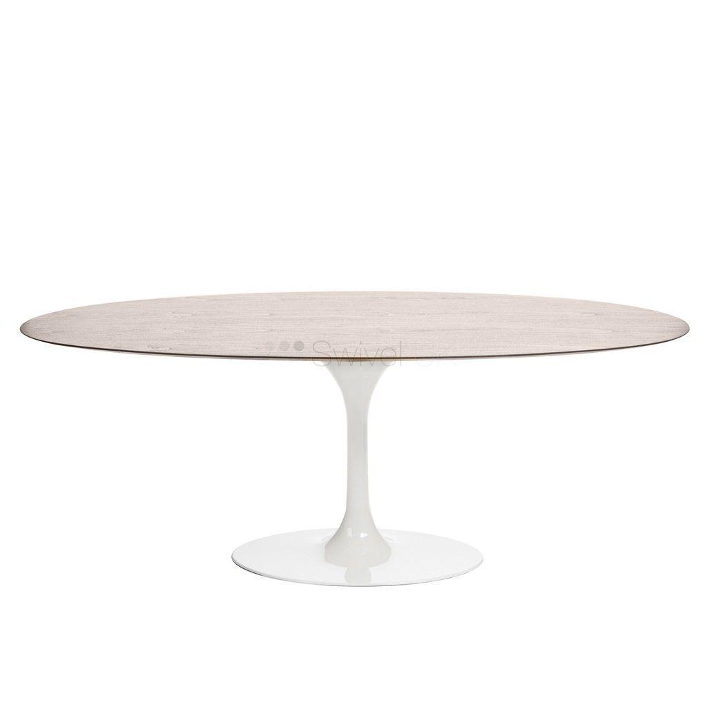 Exceptionnel Eero Saarinen Style | Wooden Tulip Style Table Oval Style | SWIVELUK.COM
