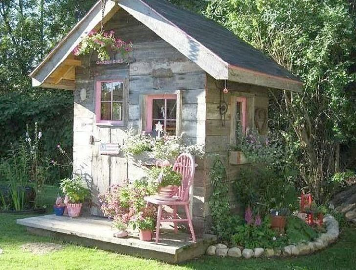 Man Cave Ideas For A Small Shed : She sheds: women embrace new trend of building female versions