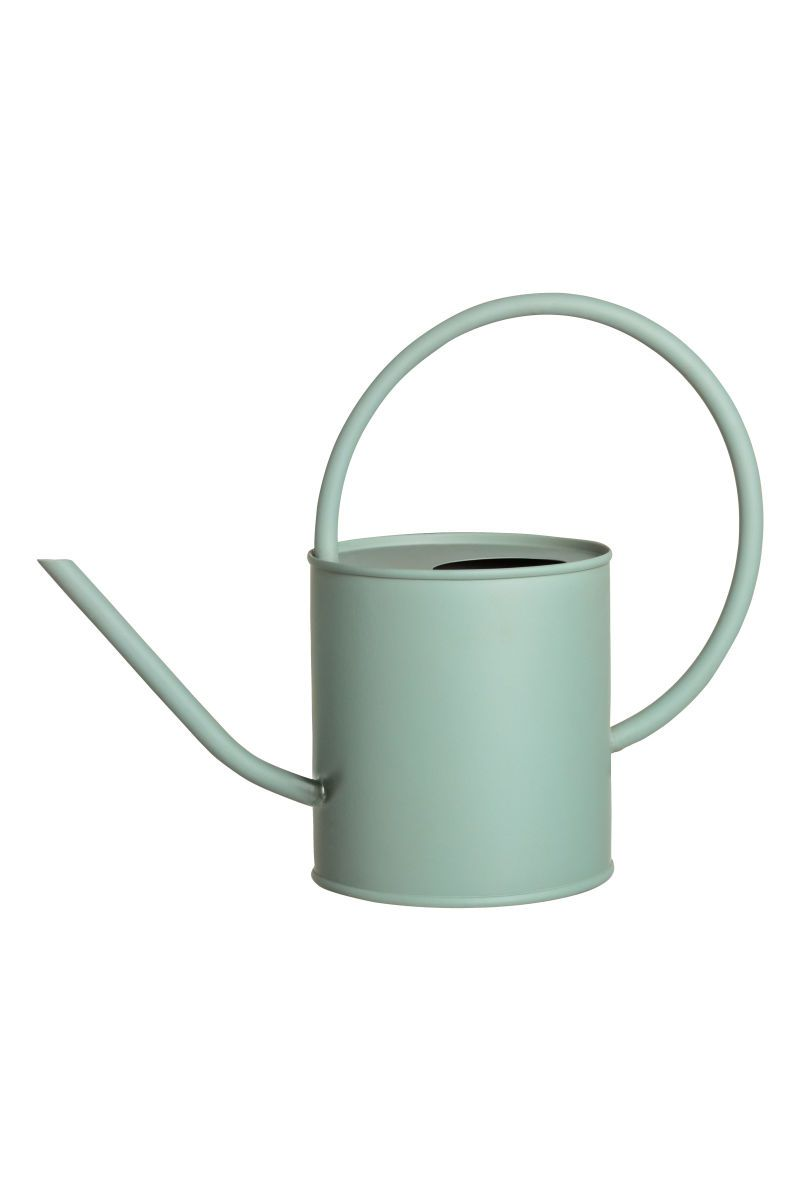 Wohnzimmer Gießkanne Metal Watering Can Dusky Green H M Home H M Nz Home