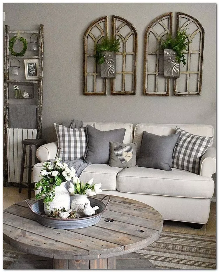 33 Modern Farmhouse Style Decorating Ideas on a Budget # ...