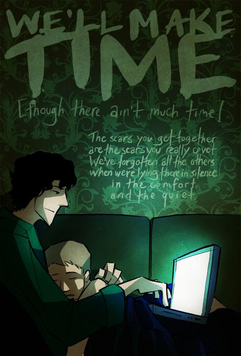 We'll make time...